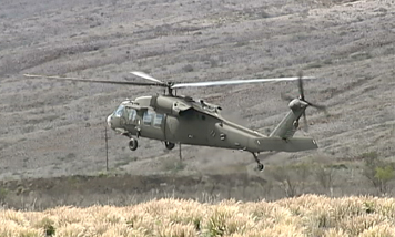 VIDEO: High Altitude Army helicopter training media brief
