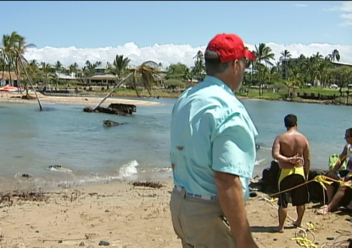 Tsunami changes Lavaman Waikoloa course
