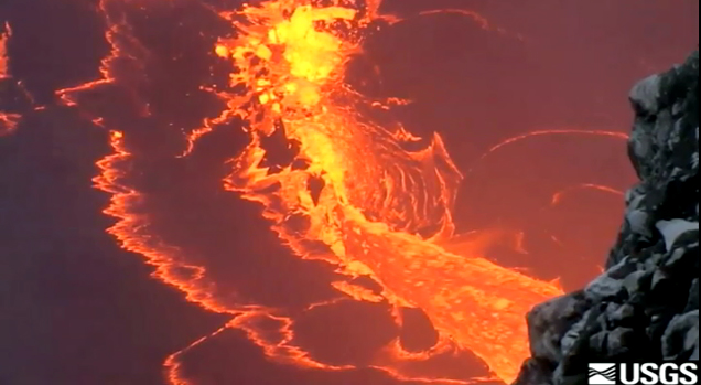 VIDEO: New Hawaii volcano eruption views released