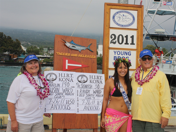 Hawaiian International Billfish Tournament, Day Two