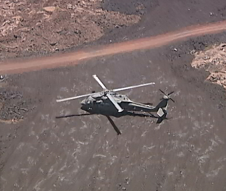 VIDEO: Army Black Hawks over Mauna Kea and Mauna Loa