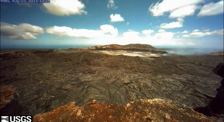 VIDEO: Hawaii volcano update – Dramatic Pu'u O'o collapse