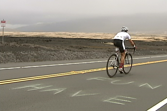 VIDEO: Bike climb up Mauna Kea makes for tough race
