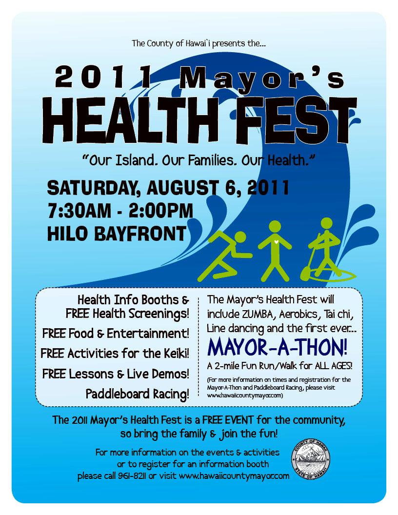 VIDEO: Mayor's 2011 Health Fest in Hilo