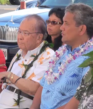 VIDEO: Sen. Inouye tours Kona highway, interpretive center