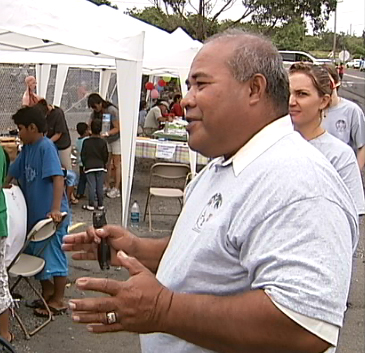 VIDEO: Marshallese in Hawaiian Ocean View gathering