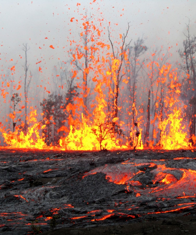 VIDEO: 2011 Kamoamoa fissure eruption, six months later