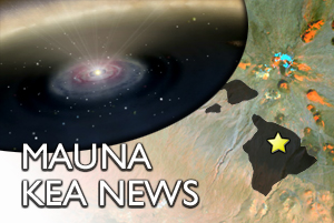 MAUNA KEA: Keck helps capture first image of protoplanet