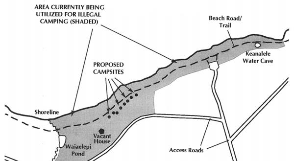 KOHALA: Kiholo interim camping plan before BLNR