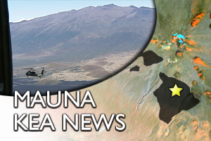 MAUNA KEA: Army helicopter HAMET concludes