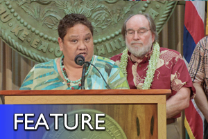 Hawaii, OHA discuss ceded lands settlement
