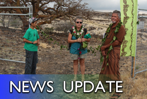 Waikoloa Dry Forest Initiative celebrated