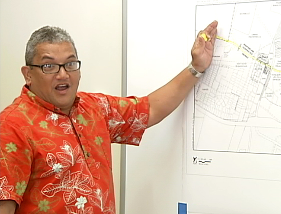 VIDEO: Hawaii mayor beams over Kona highway