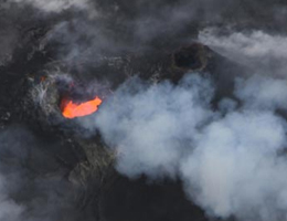 VIDEO: New Hawaii volcano video shows active lava tubes