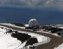 VIDEO: Winter storm dumps snow on Hawaii Island's mountains