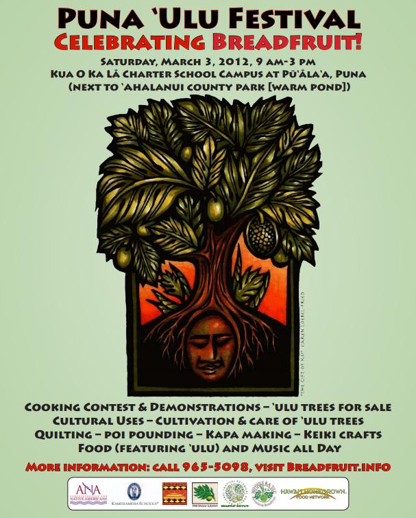 Puna 'Ulu Festival revives Hawaii's breadfruit culture, Mar. 3