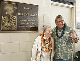 VIDEO: Pahoa celebrates new gym, going green, and Helene Hale