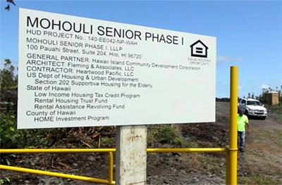VIDEO: Mohouli Heights Senior Neighborhood breaks ground
