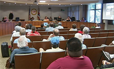 VIDEO: Geothermal disagreement boils over at County Council