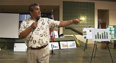 VIDEO: Kenoi, Yagong speak on state of county at Kona meeting
