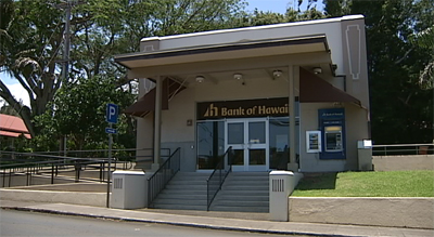 VIDEO: Bank of Hawaii's closed Kohala branch donated to county