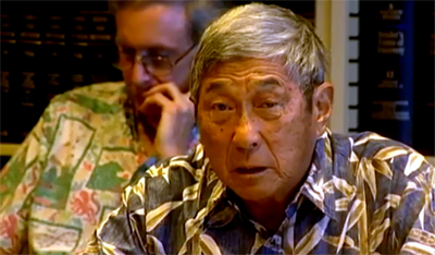 VIDEO: Harry Kim speaks out before geothermal exemption vote