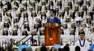 VIDEO: Waiakea High School Class of 2012 graduates
