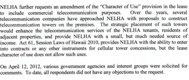 BLNR: NELHA seeks lease extension, use change