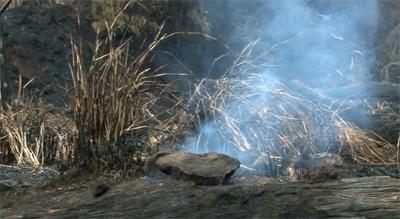 VIDEO: Pahala brushfire – the aftermath