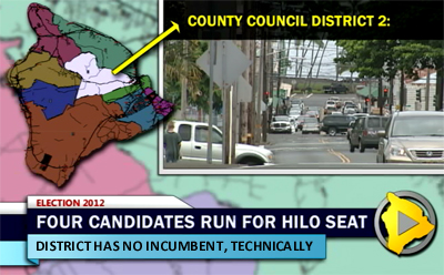 VIDEO: Hawaii County Council District 2 race