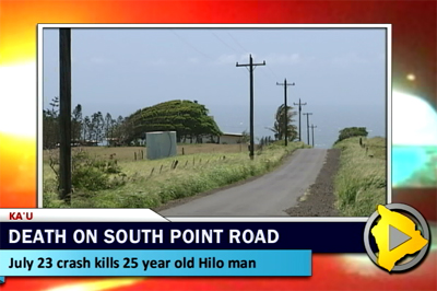 Hilo man dies in South Point Road crash