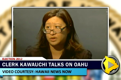 VIDEO: County Clerk reveals elections snafu to media on Oahu