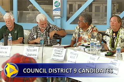 VIDEO: Hawaii County Council district 9 race