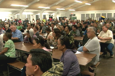 VIDEO: Kona residents rally to fight crime spree