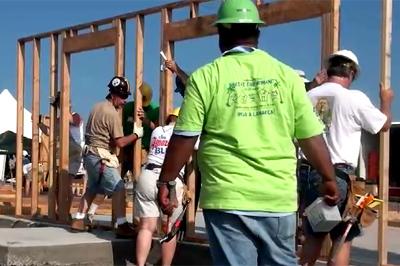VIDEO: Habitat For Humanity Blitz Build in Kona