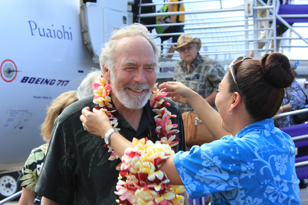 Medal of Honor awardees welcomed at Kona Airport