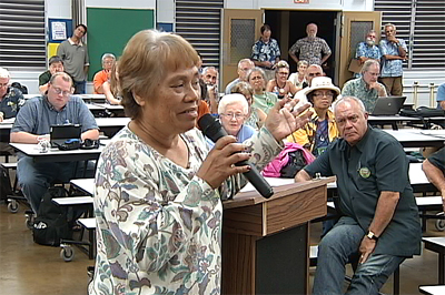 VIDEO: Aina Koa Pono, HELCO rate hikes blasted at PUC hearing