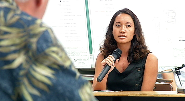 Testifiers support Hu Honua Biomass plan