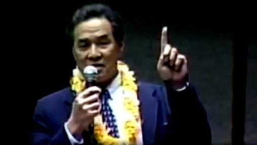 Senator Hee given Lava Tube Award for death of Shield Law
