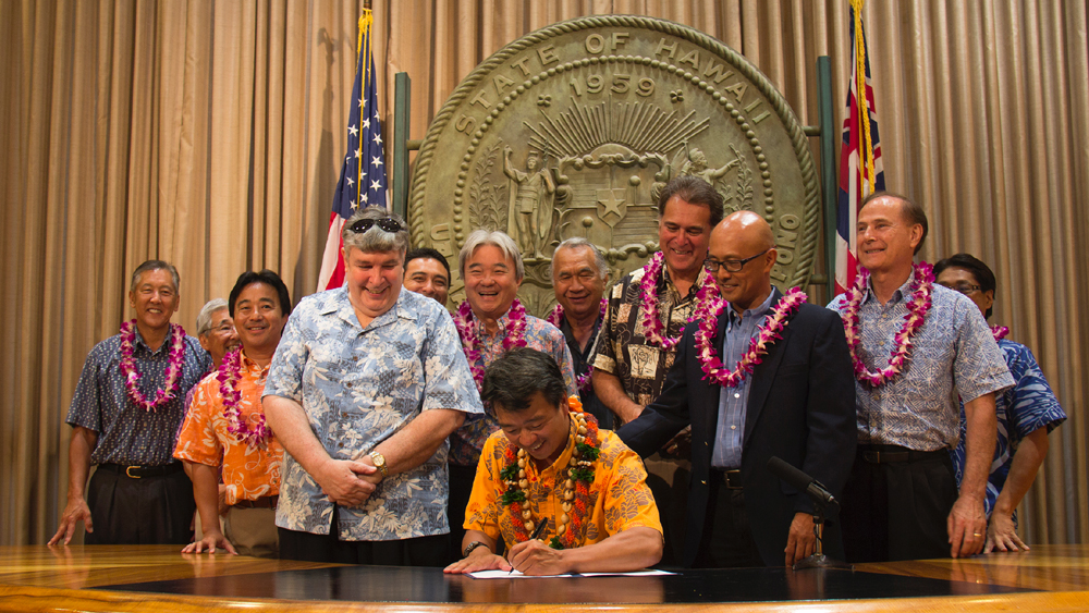 "Big Island ""Take Home the Bacon"" Bill Signings"