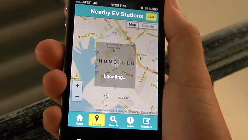 VIDEO: Hawaii rolls out EV charging station app