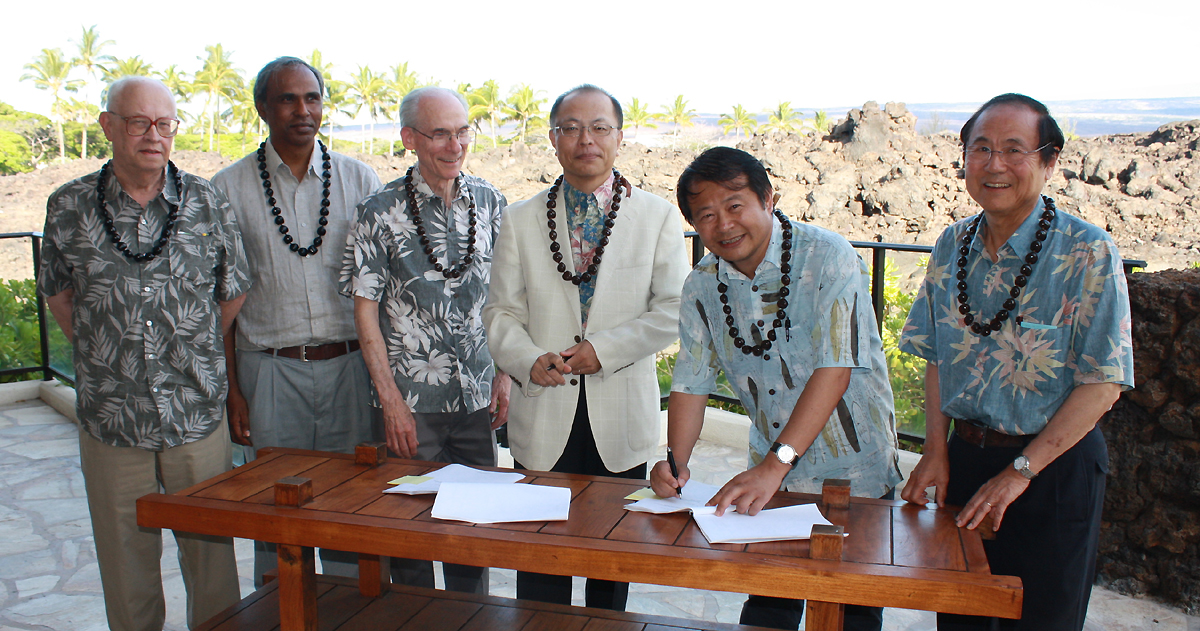Thirty Meter Telescope Master Agreement Signed