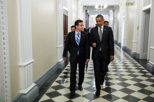 President Obama and Senator Brian Schatz at the White House last week