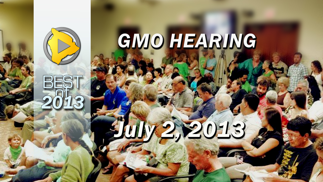VIDEO: GMO hearing packs hundreds in to testify