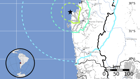 6.6 earthquake offshore Chile, no tsunami for Hawaii