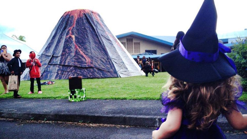 Hawaii Island Halloween Social