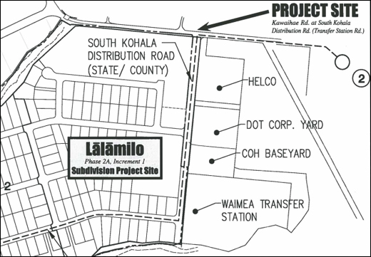 Waimea traffic impacted by DHHL project work