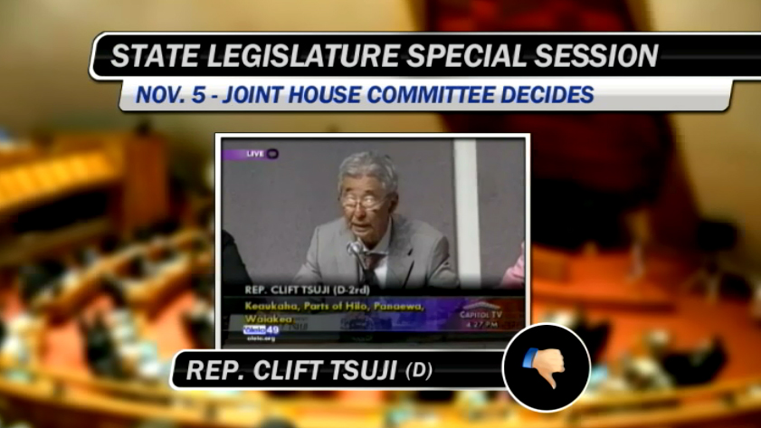 VIDEO: Hawaii Island Reps. vote on same sex marriage