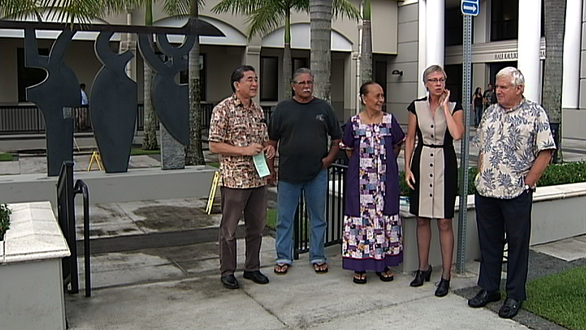 VIDEO: Group wants AG Holder to investigate Hawaii justice