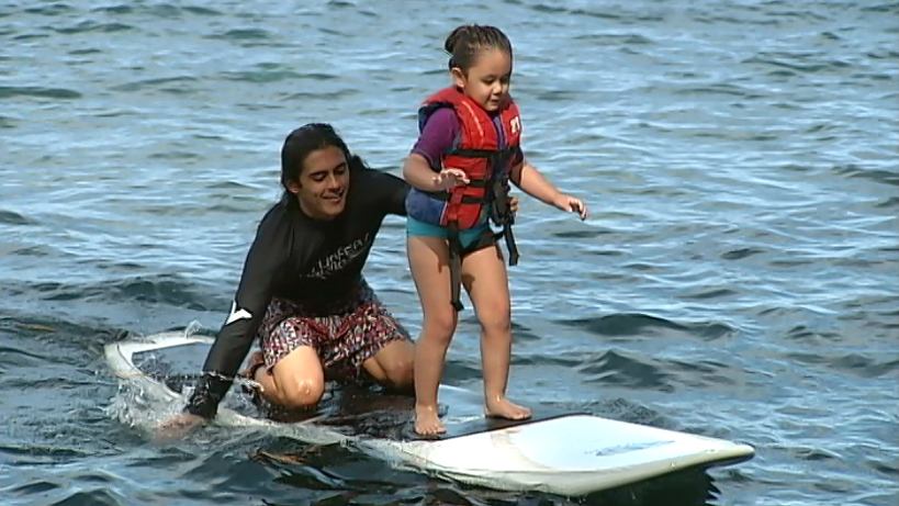 VIDEO: Surfers Healing Camp held in Hilo